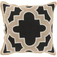 You'll love the Dupont Maze 100% Cotton Throw Pillow Cover at AllModern - With Great Deals on modern Bedroom  products and Free Shipping on most stuff, even the big stuff.