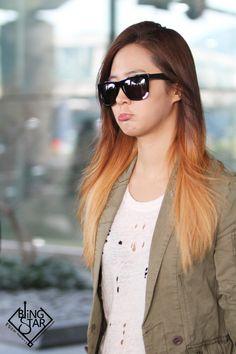 Aww so cute :3 Pouting Kwon Yuri cr.BlingStar