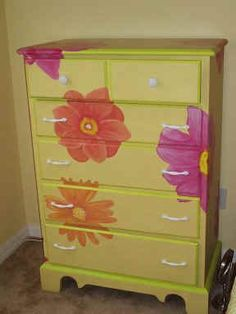 Image detail for -HAND PAINTED FURNITURE TO BEAUTIFY YOUR HOME