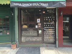 Smack Bar Window lettering - Car wraps NYC #window #decal #decals #storefront