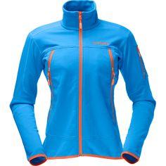 Narvik Warm2 Stretch Jacket Woman 2012: Easy zu Tragen und äußerst elastisch ist die Narvik Warm2 Stretch Jacke für Damen von Norrona. Diese Fleece Jacke ist eine gut aussehende, gut isolierende Freizeitjacke, die auch für alle Aktivitäten draussen und drinnen gut herhalten kann. Der Stehkragen, eingearbeitete Handmanschetten und die spezielle Liftpasstasche am linken Oberarm machen aus der Narvik Warm2 Stretch Jacke für Damen ein multifunktionelle Sportjacke zum günstigen Preis.