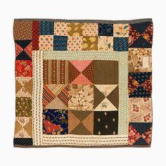c.1840-1880...Cradle/Doll Quilt – Patchwork   Mingei