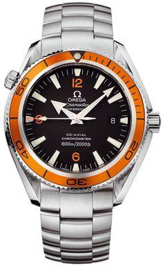 Omega Seamaster Planet Ocean XL... yeah, I wanted an orange one.