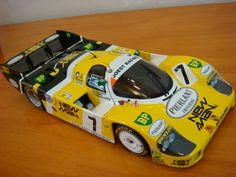 Minichamps - 1:18 - Diecast - Porsche 956 - Joest Racing - Newman - 24hrs of Le Mans Winner 1984