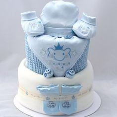 Prince nappy cake
