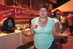 """""""#YoLeSumoAMedellín a través de la gestión de proyectos que benefician a la comunidad en que vivo"""". Elva Elena Arias, Líder Barrio Vallejuelos, Comuna 7, Medellín"""