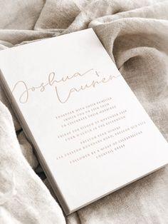 Wedding - Invitation - Stationery - Invite - Bride - Bridal - Groom - Embroidering- Minimal Design - Graphic Designer - Blush - Tones - Script - Beautiful - Save The Date Minimal Graphic Design, Save The Date, Invite, Script, Wedding Invitations, Groom, Stationery, Marriage, Blush