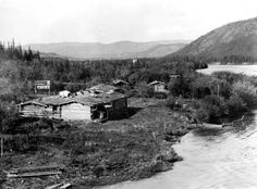 The Thirty Mile River Gold Rush, Alaska, Sailing, The Past, Boat, River, Island, Mountains, History