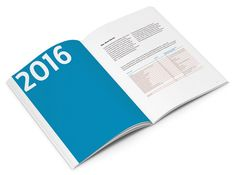 in flagranti design: Nachhaltigkeitsbericht 2016 Editorial Design, Editorial Layout