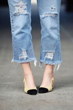 chanel and denim