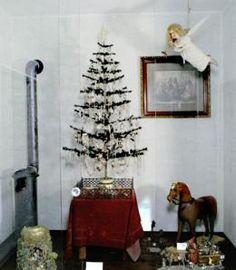 Kleine Decke rund zum Weihnachtsbaum  Dekoration Puppenhaus Miniaturen1:12