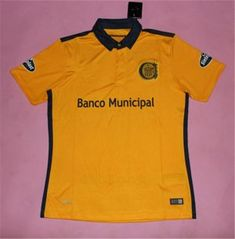 Rosario Central Away 16-17 Season Yellow Soccer Jersey Rosario Central Away  16-17 Season Yellow Soccer Jersey  fa6e78cb9