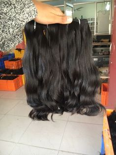 HRITIK EXIM from Hyderabad, Telangana (India) is a manufacturer, supplier and exporter of Wholesale Double Drawn Hair at the best price. Natural Hair Styles, Long Hair Styles, Hair Extensions, India, Summer Dresses, Business, Beauty, Fashion, Weave Hair Extensions