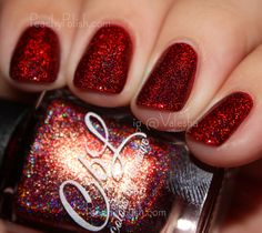 Colors by Llarowe As Rome Burned | August 2015 A Box, Indied | Peachy Polish