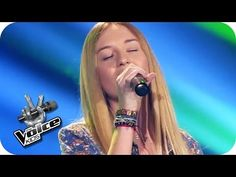 Pia - Wrecking Ball (Miley Cyrus) | The Voice Kids 2014 Germany | Blind Audition - YouTube