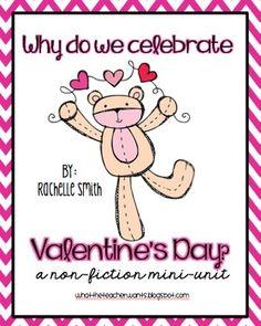 Why Do We Celebrate Valentine's Day? {Non-Fiction Mini-Unit}