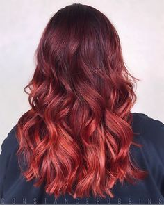 Spice things up with a red hot color melt using #SoColor and #ColorSync || : @constancerobbins