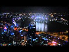 City of Perth Australia Day Skyworks 2012