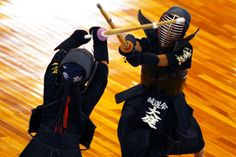 Kendo is the old japanese martial art swordmanship that, in its origins, was normally practiced by samurai. Today it is considered a discipline in which mind and body meets in challenge in a sport-like way activity. http://www.kusuyama.jp/kendo/