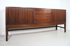Ole Wanscher rosewood sideboard for Illums Bolighus. www.midcenturyhome.co.uk
