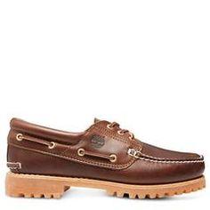 Timberland Men's  Authentics 3 Eye Classic Lug Shoe #timberland