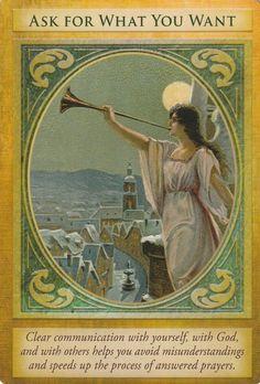 ARCHANGEL GABRIEL ORACLE CARDS BY DOREEN VIRTUE