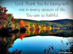 God Is Faithful Through All Seasons