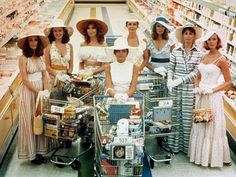 THE STEPFORD WIVES:  Only the original 1975 version will do.  A woman from the outside finds herself trapped in hollow, suburban housewife hell.