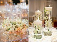 Floating Wedding Centerpieces