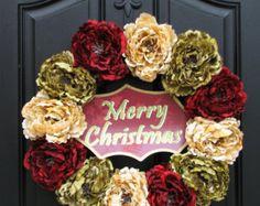 Christmas Classic, Christmas Decor, Wreaths, Front Door Wreaths, Traditional Decor, Classic Christmas
