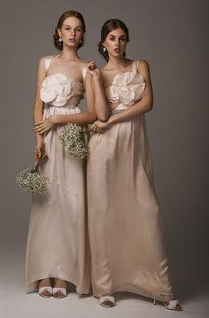 Babushka Ballerina Bridesmaids/ Anna Campbell / Samantha Wills/ Badgley Mischka