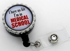 MEDICAL Student Retractable ID Badge Holder
