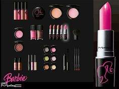 Why wasn't I into makeup when this came out!?! Barbie Loves MAC!