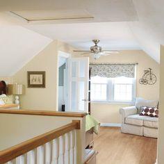 attic renovations into master bedroom | attic remodeled into master bedroom and bath | For the Home