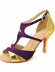 Zapatos de baile (Morado) - Danza latina/Salón de Baile - Personalizados