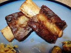 Dry Garlic Spareribs