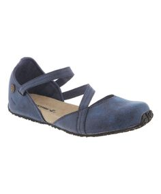 Look at this #zulilyfind! BEARPAW Navy Mallory Closed-Toe Suede Sandal - Women by BEARPAW #zulilyfinds