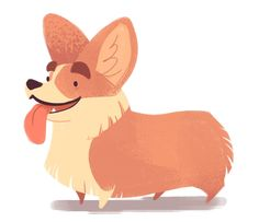 237: Pembroke Welsh Corgi (Dog Week, day 4) Someday, I will have one of these dogs. They're so adorable.