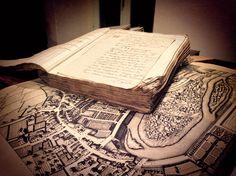Testo francese del XIX secolo, dalla biblioteca comunale di Dolceacqua. Porta la firma di Napoleone