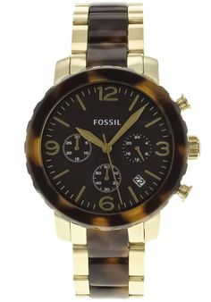 Price:$129.38 #watches Fossil JR1382, Stainless steel case, Stainless steel bracelet, Brown chronograph dial, Quartz movement, Scratch-resistant mineral, Water resistant up to 5 ATM - 50 meter - 165 feet