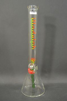 Illadelph Medium Rasta Beaker Water Pipe