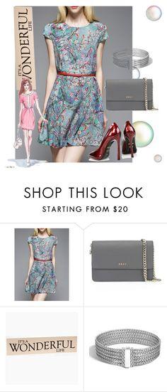 """dress"" by masayuki4499 ❤ liked on Polyvore featuring DKNY, GE, John Hardy and Kim Kwang"