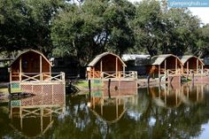 Camping Cabin Rentals in St Augustine
