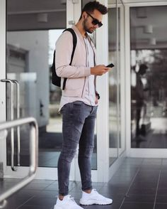 31 Trendy Casual Shoes for Men in Fall - Mode man - Style Hipster, Style Casual, Swag Style, Men Casual, Casual Fall, Smart Casual, Stylish Mens Outfits, Casual Outfits, Fashion Outfits
