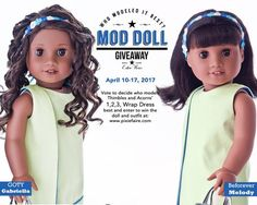 Hi everyone, The question is simple, which doll models it best? You vote to help us decide which doll wears it best and one lucky participant will receive the w