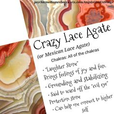 Crazy Lace Agate crystal meaning - ours is purple & brown
