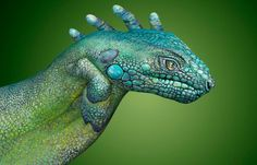 Hand Paintings by Guido Daniele