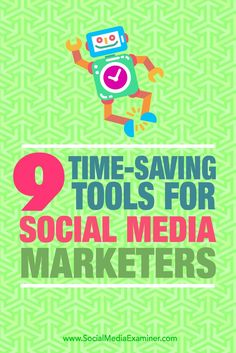 Do you need to spend less time on repetitive social media tasks?  Are you looking for tools that let you balance automation with a personal touch?  In this article, youll discover nine tools to help marketers save time while maintaining a human presence
