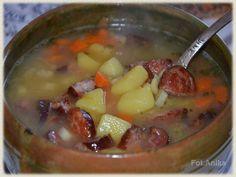 Domowa kuchnia Aniki: Sycąca zupa ziemniaczana