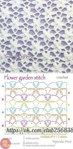 Most current Absolutely Free Crocheting Stitches flower Ideas A introduction connected with the Traditional Miffy Amigurumi Crochet Kit and XL Miffy Amigurumi Crochet Kit Sie Tücher Diagramm Sie Blusendiagramm Crochet Scarf Diagram, Bobble Stitch, Crochet Motifs, Treble Crochet Stitch, Crochet Stitches Patterns, Crochet Shawl, Knitting Stitches, Stitch Patterns, Knitting Patterns